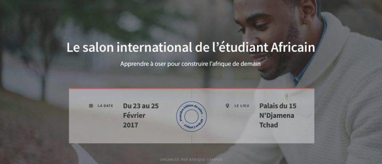 Article : La 1ère édition du Salon de l'Etudiant Africain à N'Djamena marquera-t-elle un Erasmus africain ?